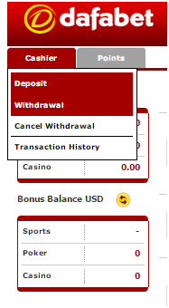 dafabet-how-to-withdraw
